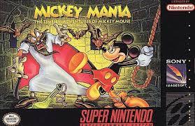 5510100511 Mickey Mania FR SNES