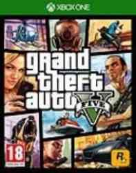 5026555284141 GTA 5 Grand Theft Auto V 5 FR/STFR XBone
