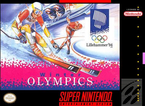 5510100638 Winter Olympics Snes