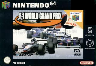 5510100645 f1 world grand prix N64