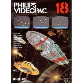 5510100744 Cartouche Videopac Numero 18 Guerre Laser