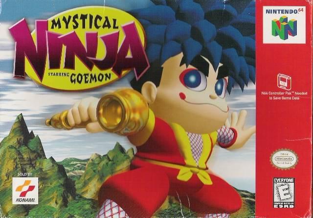 5510100776 mystical ninja 2 starring goemon FR N64