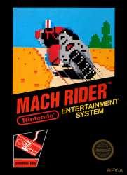 5510100822 Mach Rider NES