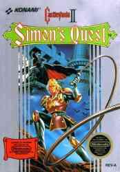 5510100859 Castlevania Simon s quest II NES