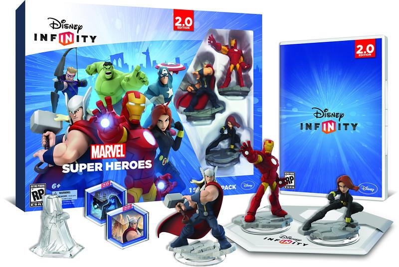 8717418435622 DISNEY INFINITY 2 - Avengers Starter Pack Wiiu