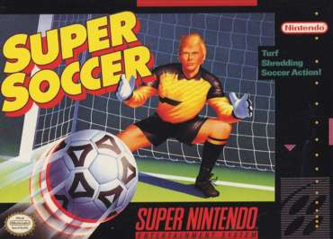 5510100890 Super Soccer FR SNES