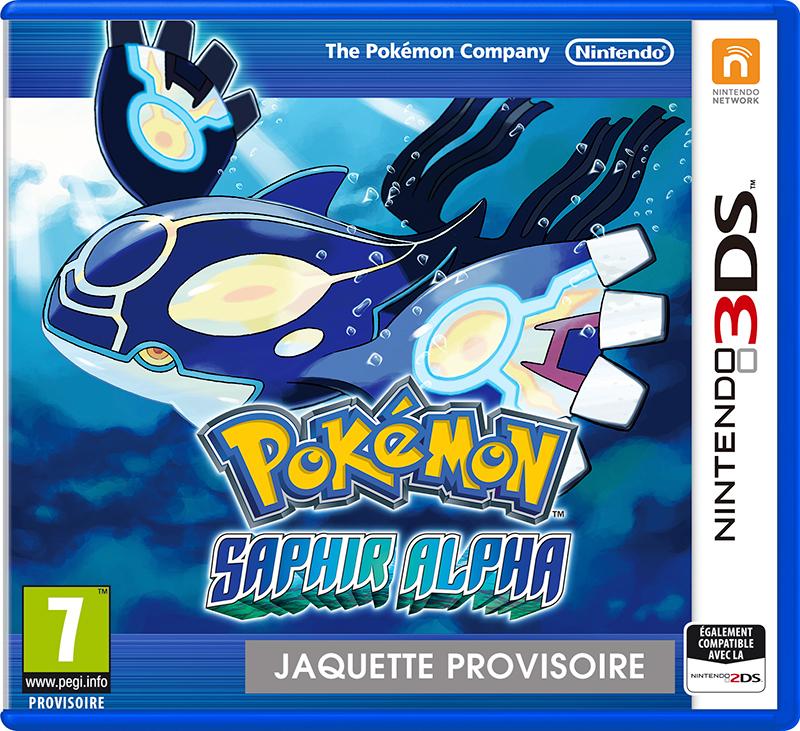 45496526306 Pokemon Saphire Alpha FR 3DS