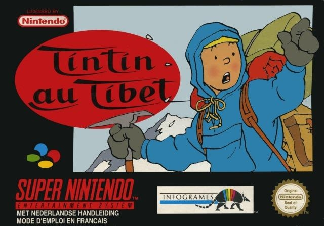 5510100909 Tintin Au Tibet FR SNES