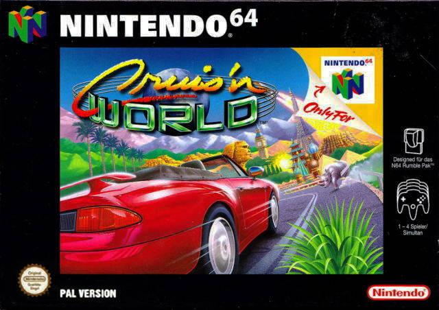 45496870140 Cruisi N World N64