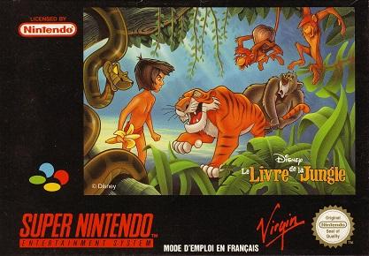 5510101257 Le Livre De Jungle SNES