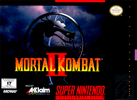 5510101356 MK Mortal Kombat II 2 SNES