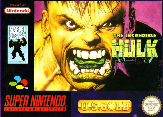 5510101434 The Incredible Hulk FR SNES