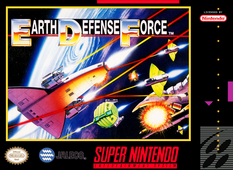 5510101448 arth Defense Force FR SNES