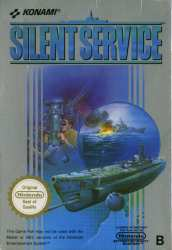 83717120087 Silent Service NES