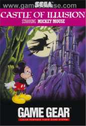 5510101555 Mickey Castle Of Illusion FR Game Gear