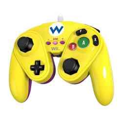 708056053604 Manette Classique Filaire De Combat Wario Wii U