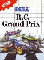 4974365636272 R C Grand Prix FR Sega MAster System MS