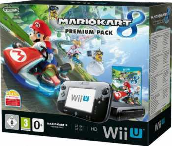 5510101665 Console Nintendo WiiU Noire Mario Kart