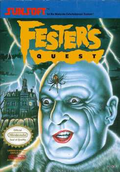 5510101987 Fester S Quest FR NES