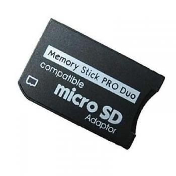 64793839 daptateur Micro SD Vers Memory Stick (PSP)