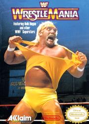 21481105015 WWF Wrestlemania NES
