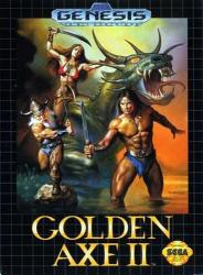 10086011227 Golden Axe II Sega Genesis US MD