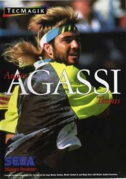 5021093161008 ndre Agassi Tennis Sega Master System MS