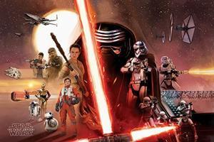 5050574336567 STAR WARS 7 - Poster 61X91 - Star Wars Galaxy