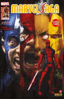 9782809444001 Comics Deadpool Deadpool Massacre Marvel BD