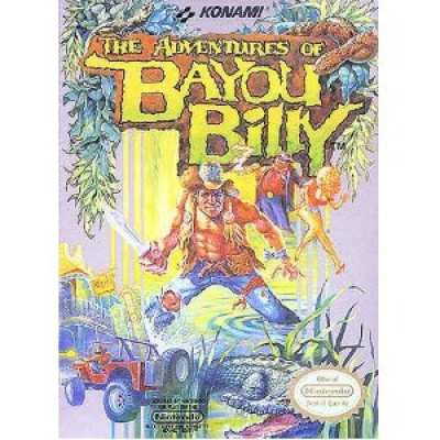 5510102374 The Adventures Of Bayou Billy US NES