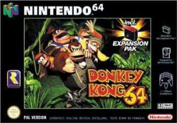 5510102386 Donkey Kong 64 N64