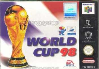 5510102450 World Cup 98 FR N64