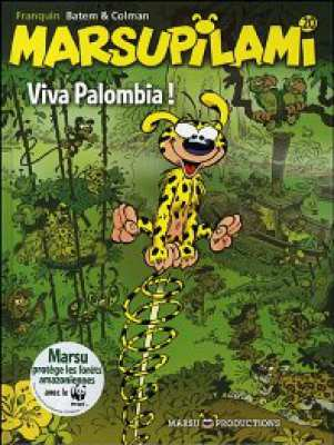 3410440329574 Marsupilami Viva Palombia ! BD