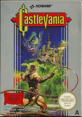 5510102772 Castlevania FR NES
