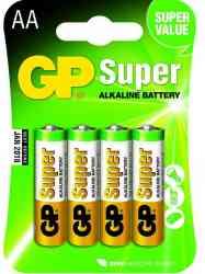 4891199000034 Piles GP BATT. AA LR06 ALK SUPER/ 4