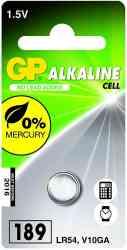 4891199003981 Piles GP 189 ALKALINE LR54 1.5V