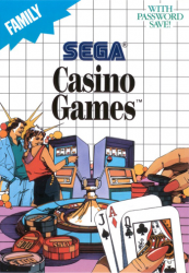 4974365634216 Sega Casino Games FR Sega MS