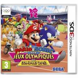 5055277013784 Mario et Sonic au jeux olympique londres 2012 FR 3DS