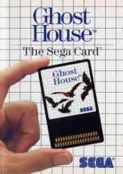 10086040029 Ghost House the Sega Card Sega Master System MS