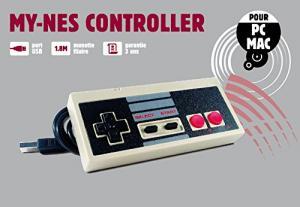 3760178624497 Manettes Type NES Classique Pour PC MAC USB