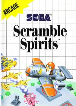 4974365634315 Scramble Spirits FR Sega master system