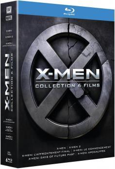 3344428063238 X-men Collection 6 Films FR BR