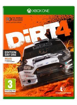 4020628787561 Dirt 4  Day One Steel Book Edition FR Xbone