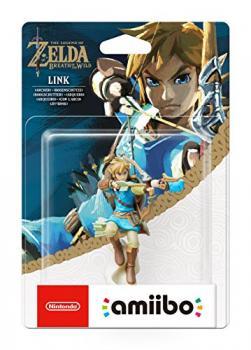 45496380250 Figurine Amiibo Zelda Breath Of The Wild  Link Archer
