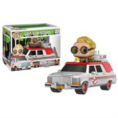 849803076290 Figurine POP Rides Ghostbusters Ecto 1 Jullian Holtzmann
