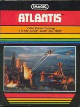 5510103963 tlantis (Imagic) EIX-010-041 Atari VCS 26