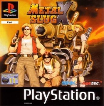 93992087630 Metal Slug X FR PS1