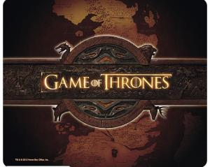 3760116329873 Tapis De Souris Game Of Thrones - Logo Et Carte