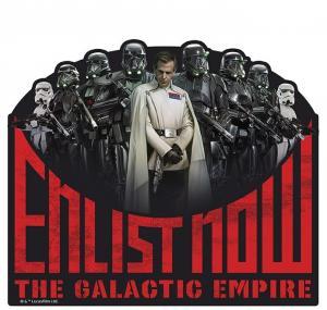 3700789243472 Tapis De Souris Enlist Galatic Empire Star Wars