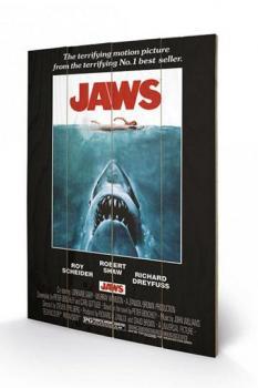 7834839481363 Impression Sur Bois 40 X 60 Jaws Les Dents De La Mer